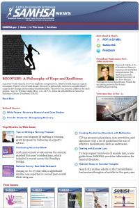 SAMHSA News Sept/Oct 2009